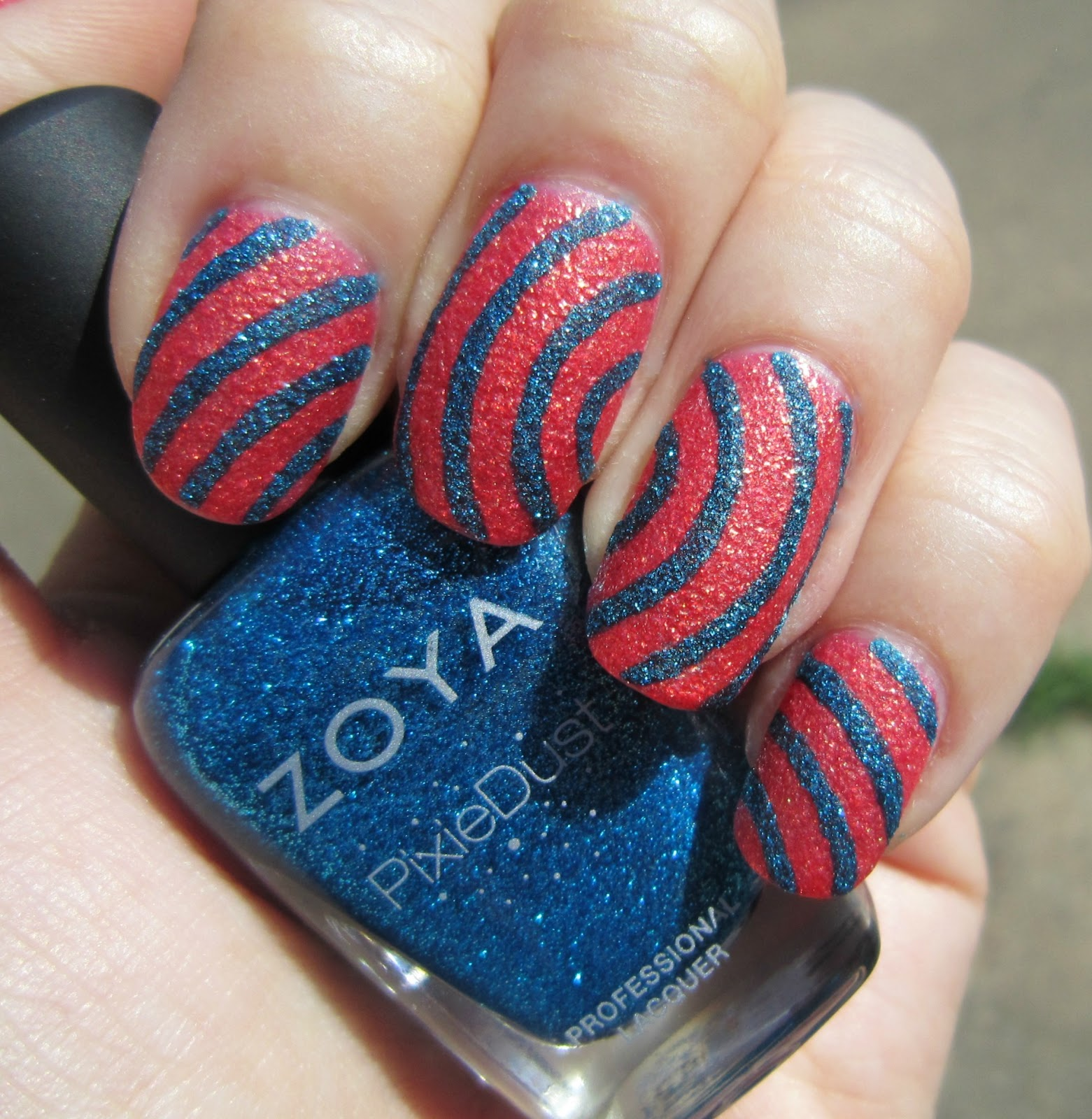 Concrete and Nail Polish: Zoya Pixie Dust Nail Art Inspired By ...