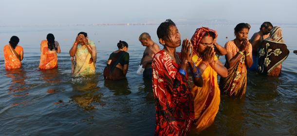"""Il giorno """"propizio"""" del Kumbh Mela"""