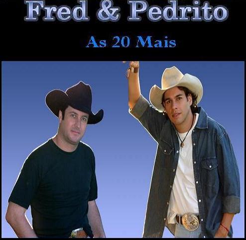 Freddy on Rei Do Bail  O  As 20 Mais Fred E Pedrito