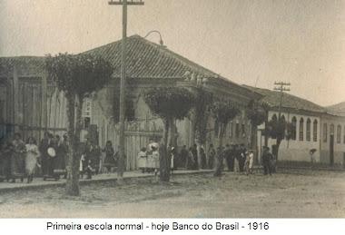 ESCOLA NORMAL EM 1916