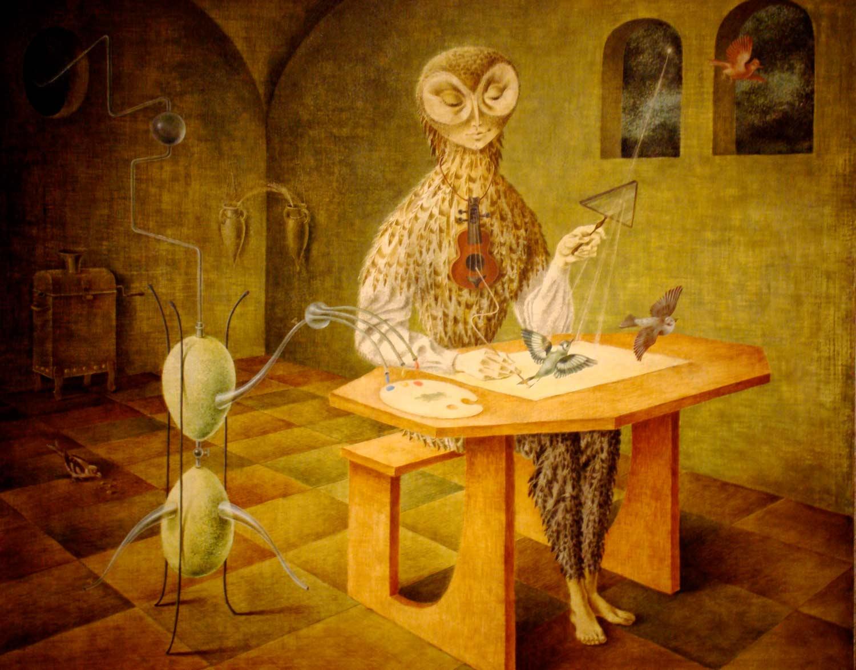 Tags: Remedios Varo art paintings