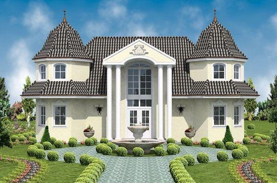 Plane per shtepi video shtepi me dizajn te veqant for Fertighaus villa