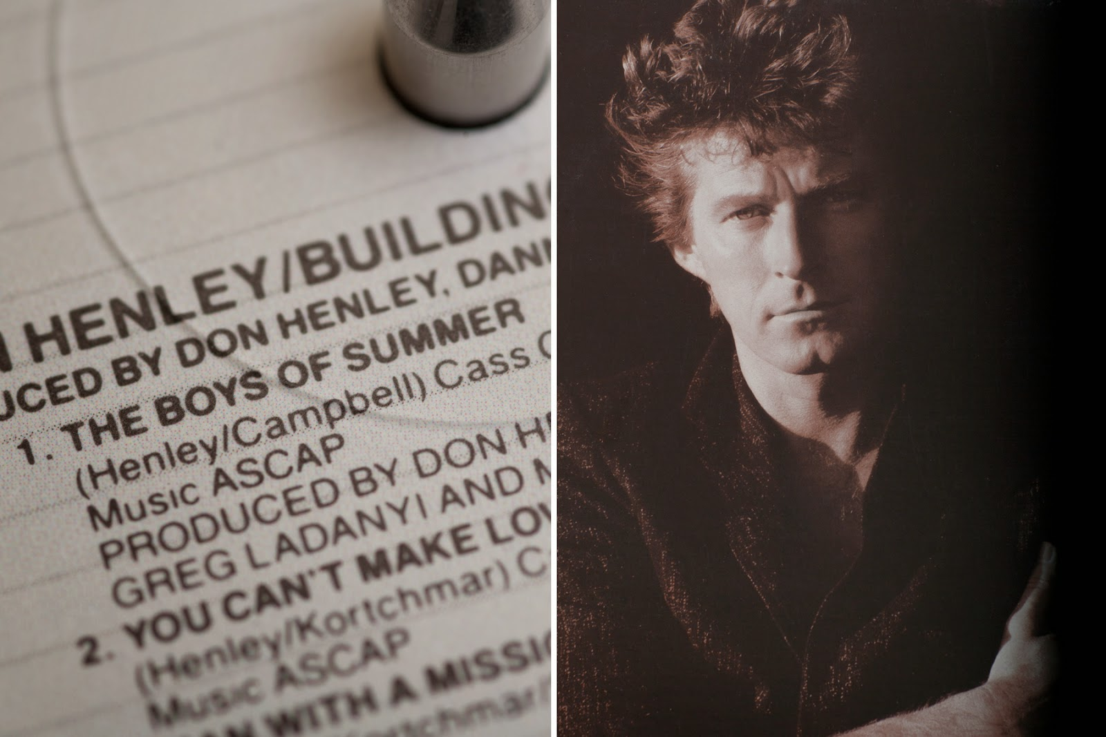 Don Henley - Building The Perfect Beast (1984, Allied ...