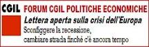 CGIL forum politiche economiche
