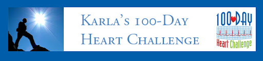 Karla's 100-Day Heart Challenge