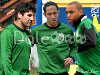 Oriente Petrolero - Ronald Raldes - Mauricio Saucedo - Thiago dos Santos - DaleOoo.com sitio del Club Oriente Petrolero
