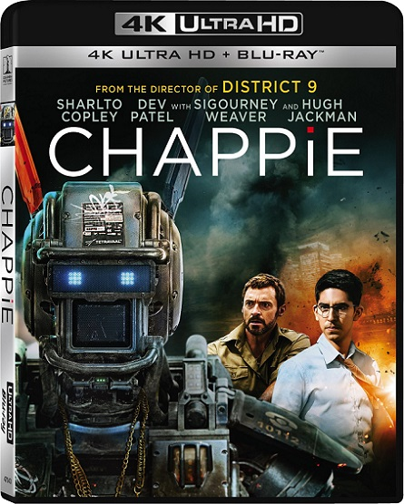 Chappie 4K (2015) 2160p 4K UltraHD HDR BluRay REMUX 48GB mkv Dual Audio Dolby TrueHD ATMOS 7.1 ch