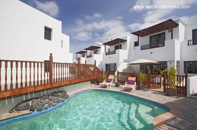 Villa con apartamentos en Lanzarote