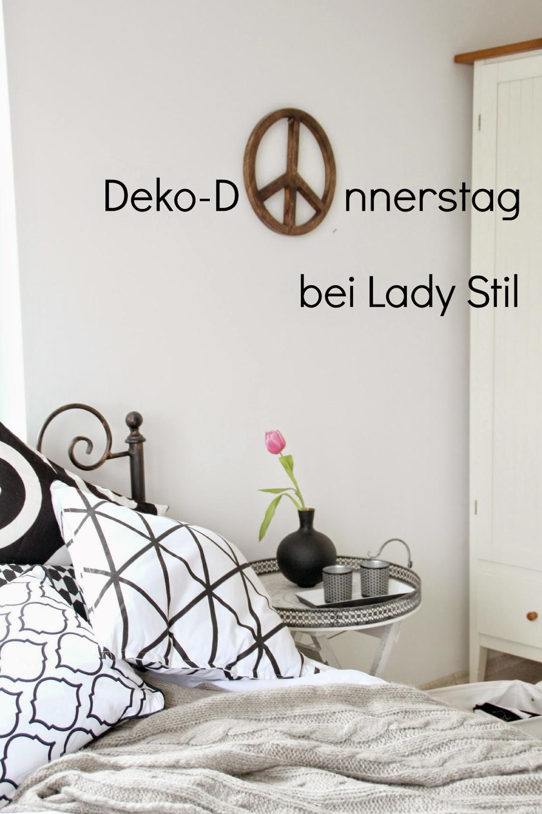 Deko-Donnerstag