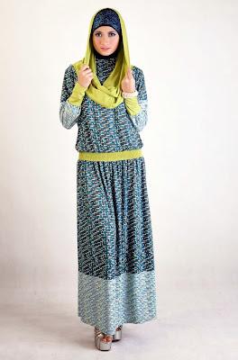 Kumpulan Foto Model Baju Gamis Terbaru 2015