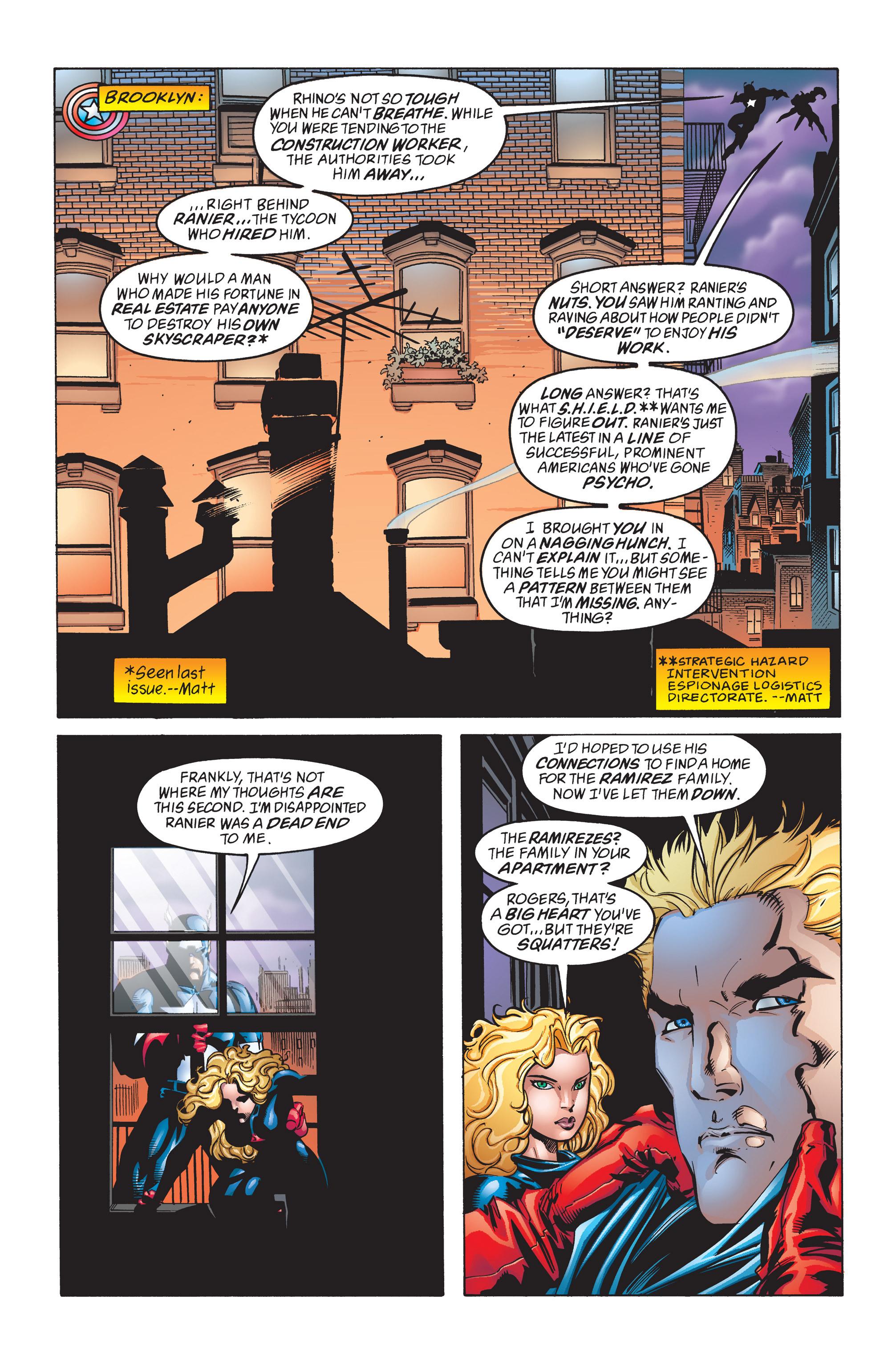 Captain America (1998) Issue #10 #16 - English 9
