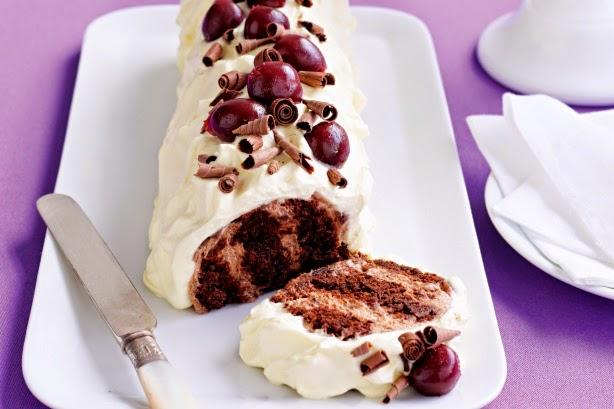 Recipe For Choc Malt Chocolate Ripple Cake