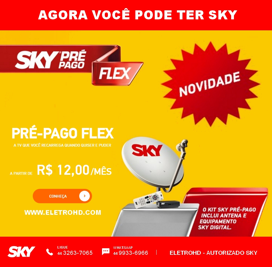 SKY PRÉ-PAGO FLEX