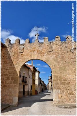 Arco de las Monjas, Peñaranda de Duero s.XV
