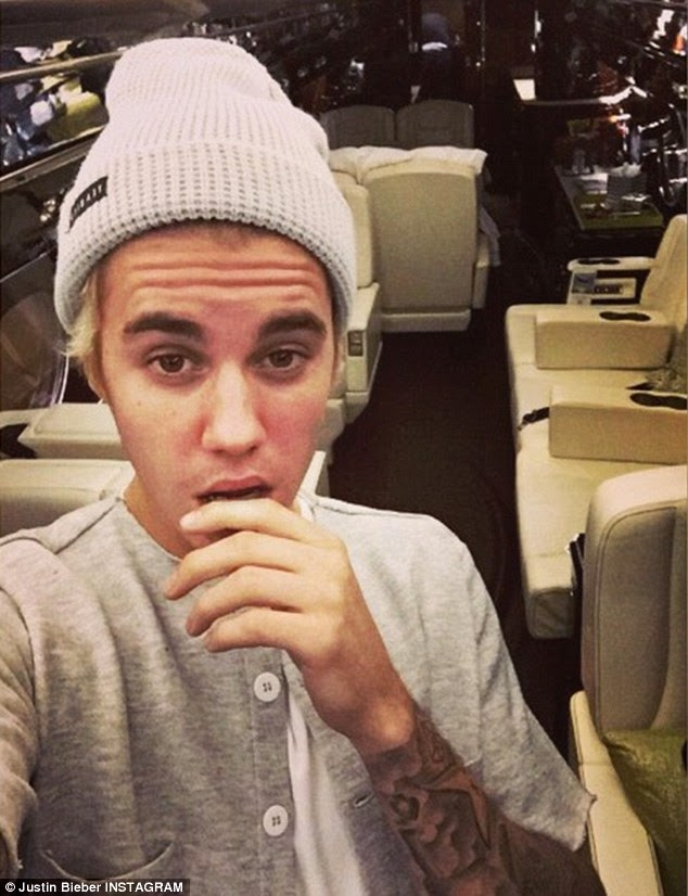 20 Years Old Justin Bieber Buys Himself A Brand New Private Jet For ...