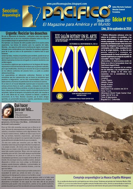 Revista Pacífico Nº 190 Arqueología