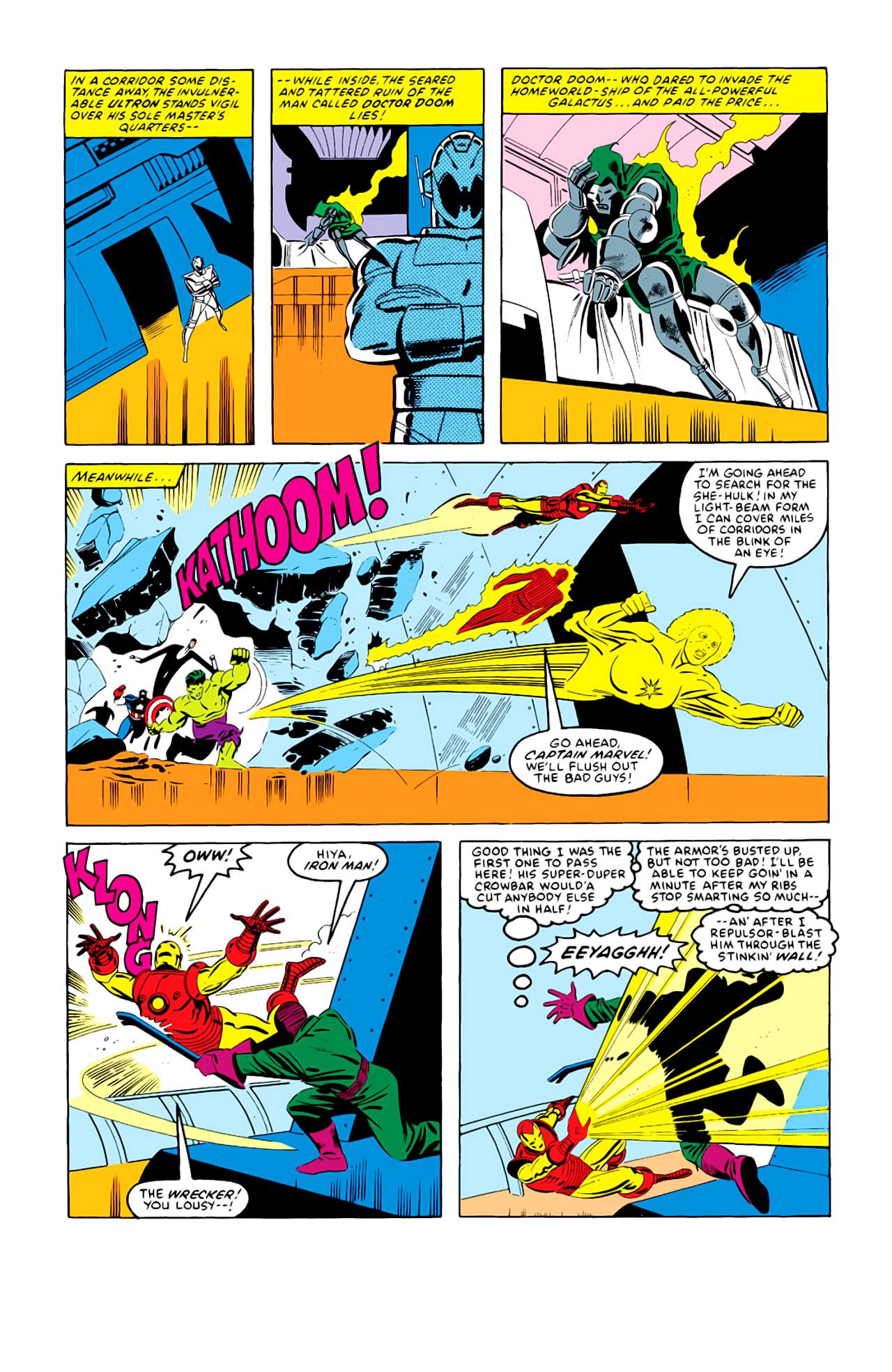 Captain America (1968) Issue #292i #216 - English 6