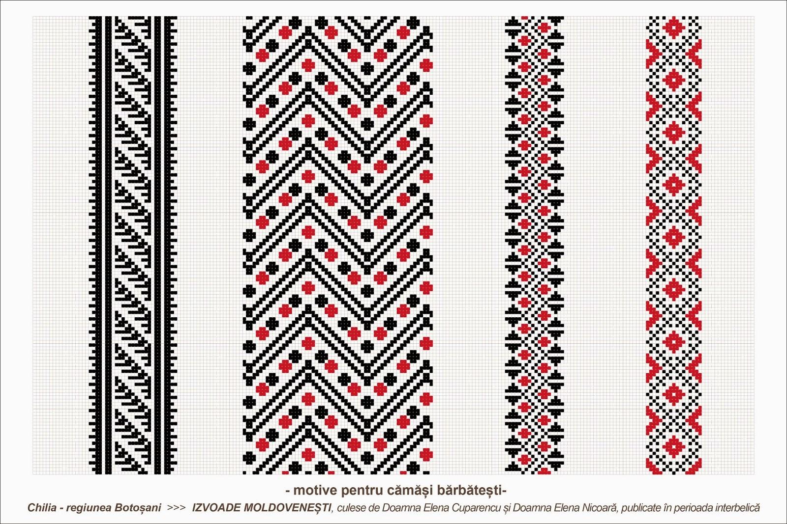 Semne cusute octombrie 2013 - Beautiful romanian folk motifs ...