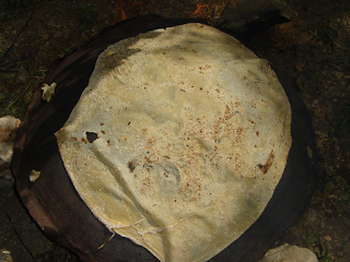Traditional Jordanian bread