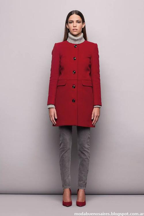 Tapados otoñoinvierno 2014 moda mujer Awada.