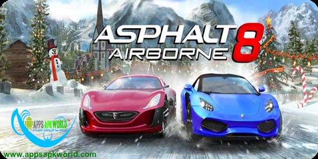 Asphalt 8: Airborne v1.9.0h APK + DATA [Mod Money]