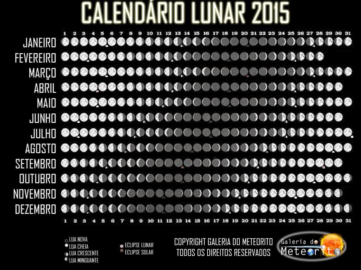 Calendario Lunar 2015 2016 | Calendar Template 2016