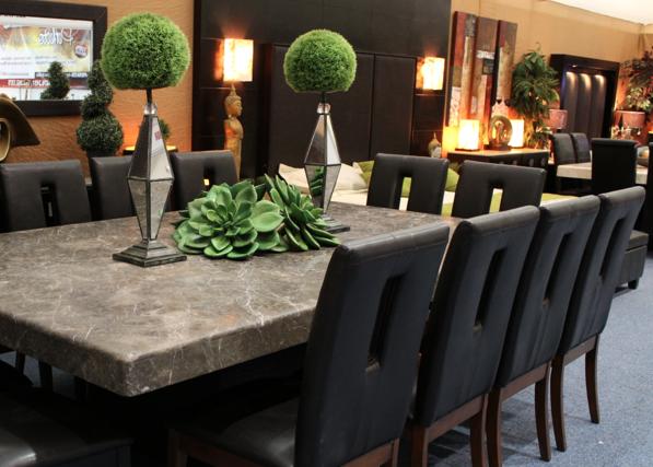 Comprar muebles de m rmol y algarrobo algunos consejos - Mesas de marmol de comedor ...