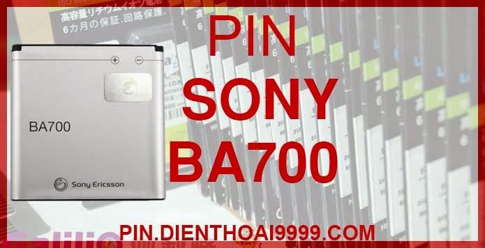 Pin BA700 giá rẻ | Pin đt Sony Xperia, ST18i,MT15i...chất lượng tốt nhất Hà Nội | Pin Sony Ericsson BA700 - Pin Galilio dung lượng cao 1500mAh - Giá 190k - Tương thích với các dòng máy điện thoại Sony Ericsson Xperia neo, Xperia pro, Xperia ray, Azusa, Urushi, ST18i, MT15i, MK16i... - Bảo hành: 6 tháng   Thông số kĩ thuật: - Pin Sony BA700 1500 mAh được thiết kế kiểu dáng và kích thước y như pin nguyên bản theo máy, Pin tiêu chuẩn, chất lượng như pin theo máy. - Kích thước: 4.8cm x 4.7cm x 0.5 cm - Dung lượng: 1500mAh - Điện thế: 3.7V - Công nghệ: Pin Li-ion Battery  Mô tả sản phẩm:  - Pin Galilio nhờ nghiên cứu và phát triển công nghệ lithium nên đã đạt được pin dung lượng cao nhất cho phép (từ 1,5- 2 lần) nhưng vẫn đảm bảo được chất lượng cao, đã vượt qua nhiều tiêu chuẩn chất lượng như ISO 9001, ISO 1400I, CERTIFICATED, hãng cũng ứng dụng Công Nghệ an toàn mà những hãng pin khác không có được: Controller IC, Control swithches, Temperature Fuse.. - Thiết kế kiểu dáng và kích thước y như pin nguyên bản theo máy, thuận tiện và dễ dàng thao tác, pin dung lượng cao cung cấp đủ nguồn điện cho máy sử dụng được trong thời gian dài, có thể mang đi bất cứ đâu để phòng khi pin của máy bạn hết mà không có điều kiện để sạc. - Cho phép bạn giữ các cuộc nói chuyện và bảo đảm cho bạn không bỏ lỡ các cuộc gọi điện thoại quan trọng - Pin sạc bằng cách gắn vào điện thoại và sạc như pin gốc - Sản phẩm đạt tiêu chuẩn tuyệt đối về an toàn cháy nổ - Bảo hành đổi pin mới trong 6 tháng.  GIAO HÀNG VÀ BẢO HÀNH TẬN NHÀ  Quý khách có nhu cầu mua pin,  hãy liên hệ với chúng tôi:  - Khu vực Ba Đình: 0904.691.851 - Khu vực Hà Đông: 01273.473.357 - Khu vực Từ Liêm: 0976.997.907  Website: http://pin.dienthoai9999.com Mua số lượng lớn: 0942299241  - Hướng dẫn sử dụng, bảo quản pin: http://pin.dienthoai9999.com/huong-dan-su-dung-pin - Quy định bảo hành: http://pin.dienthoai9999.com/quy-dinh-bao-hanh-pin - Khách hàng góp ý: http://pin.dienthoai9999.com/khach-hang-gop-y