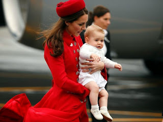 Prince George : son premier voyage officiel