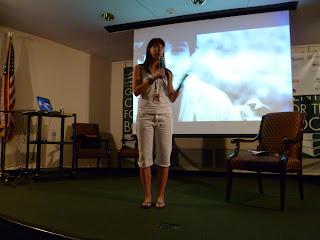 Lauren Myracle at Decatur Book Festival