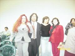 Con Monique Pardo(Actriz) Jose Beltan y Dolores Solorzano