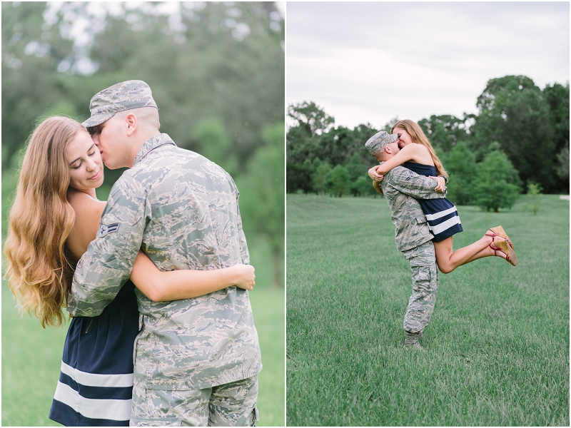 military engagement photos