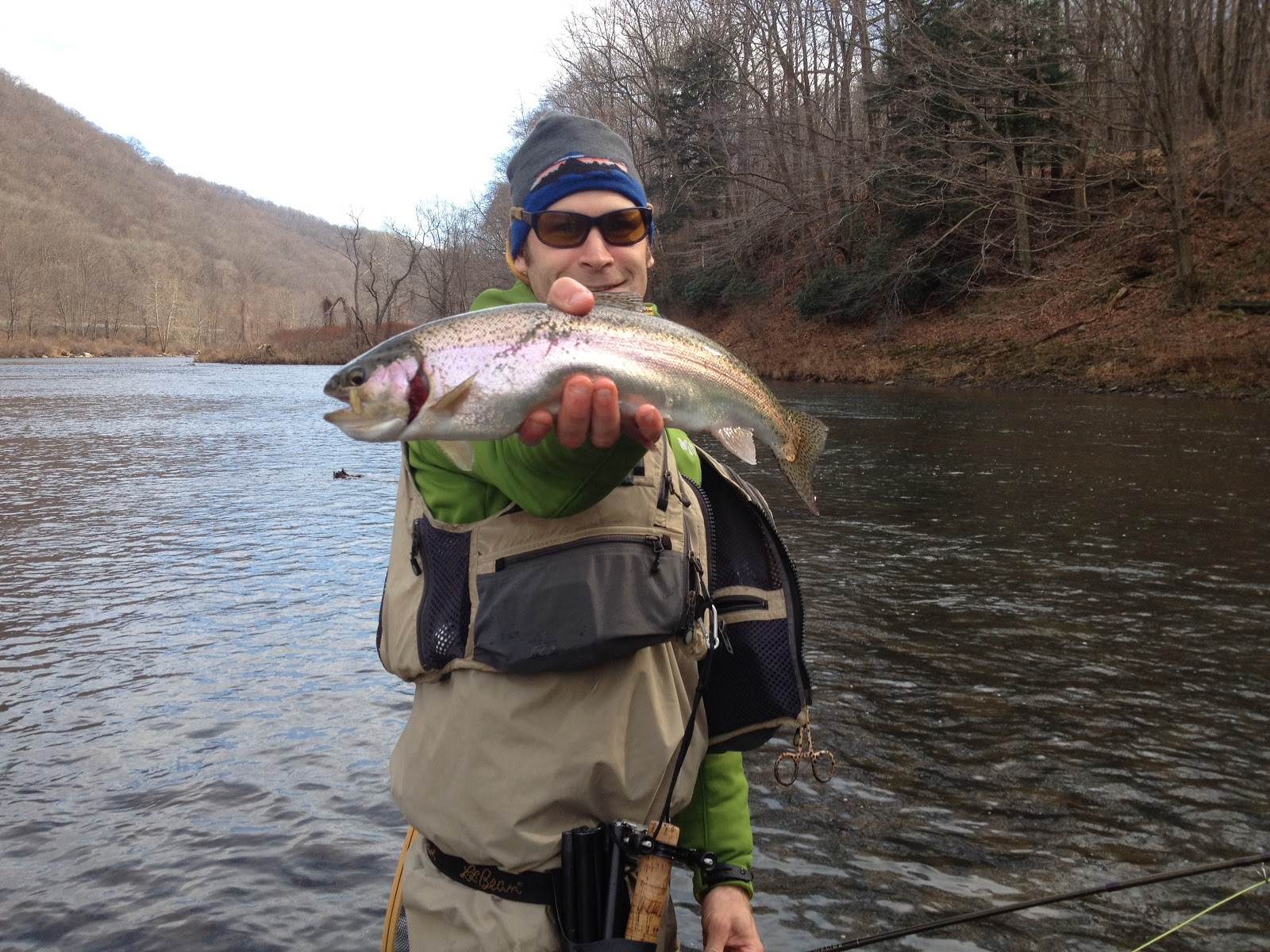 Grobe anglers and adventures late fall fishing for Youghiogheny river fishing