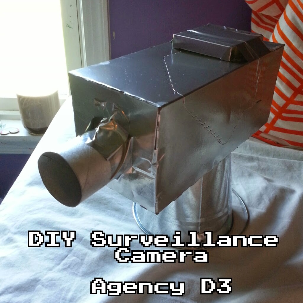 The saylors agency d3 vbs 2014 spy camera decoration diy for Decor agency