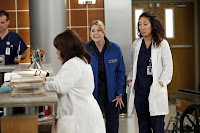 sandra oh & ellen pompeo in grey's anatomy