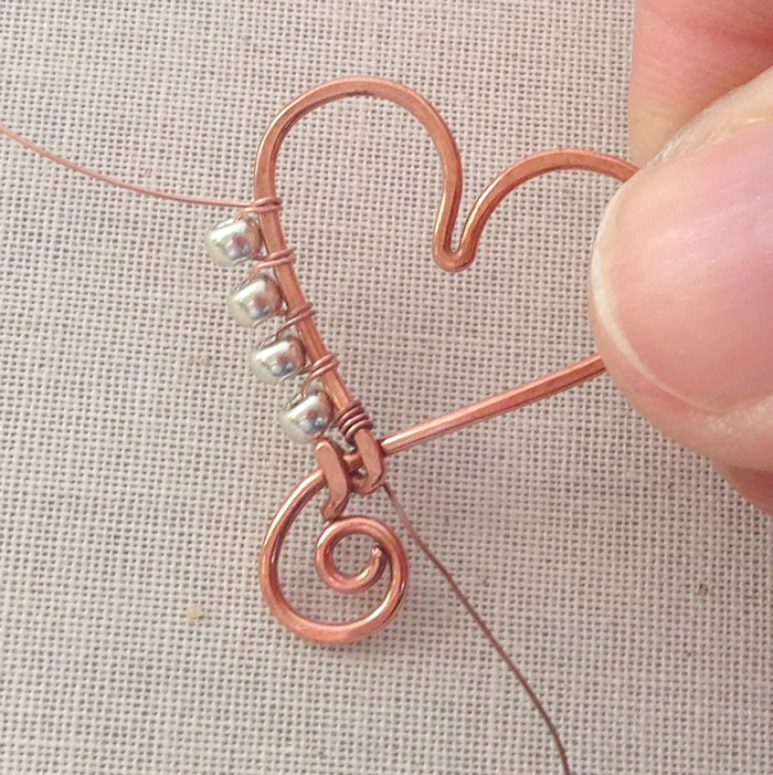 Wire Ring Beads: Lisa Yang's Jewelry Blog: How To Wrap Beads To The Outside