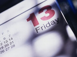 Friday the 13th, calendar, friggatriskaidekaphobia