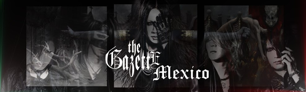 the GazettE México Street Team