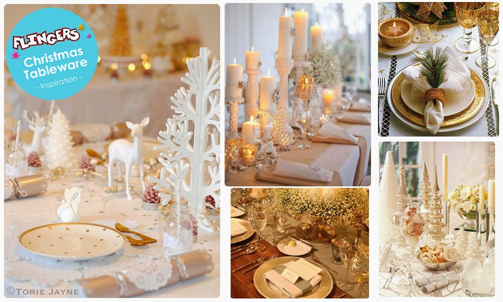Gold And White Christmas Table Decorations gold and white christmas table decorations decor trends to design