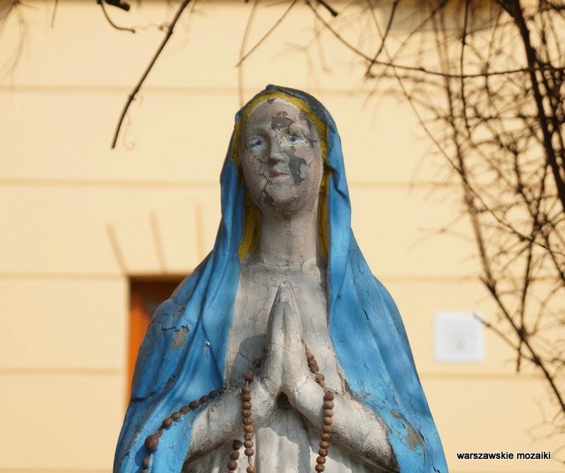 Warszawa Marcinkowskiego Praga Północ Matka Boska aureola kapliczki warszawskie