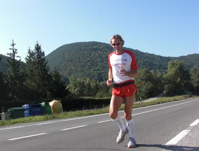 Corriendo en Peninsula Solidaria