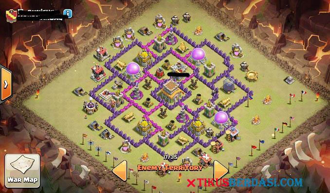 Strategi Terbaik Cara Menyusun Base Th 8 Terkuat