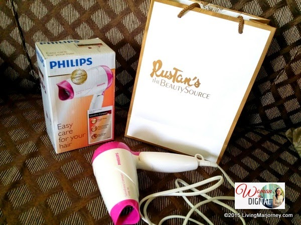 Philips-SalonDry-Extra-Compact-Hair-Dryer via LivingMarjorney.com