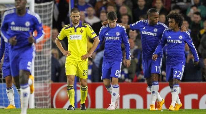5 Fakta Menarik Usai Chelsea Bantai Maribor