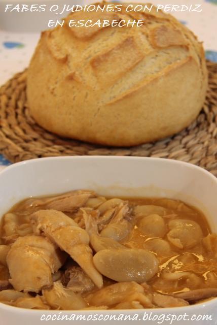 Hoy me apetece cocinar fabes o judiones con perdiz en - Como cocinar perdices ...