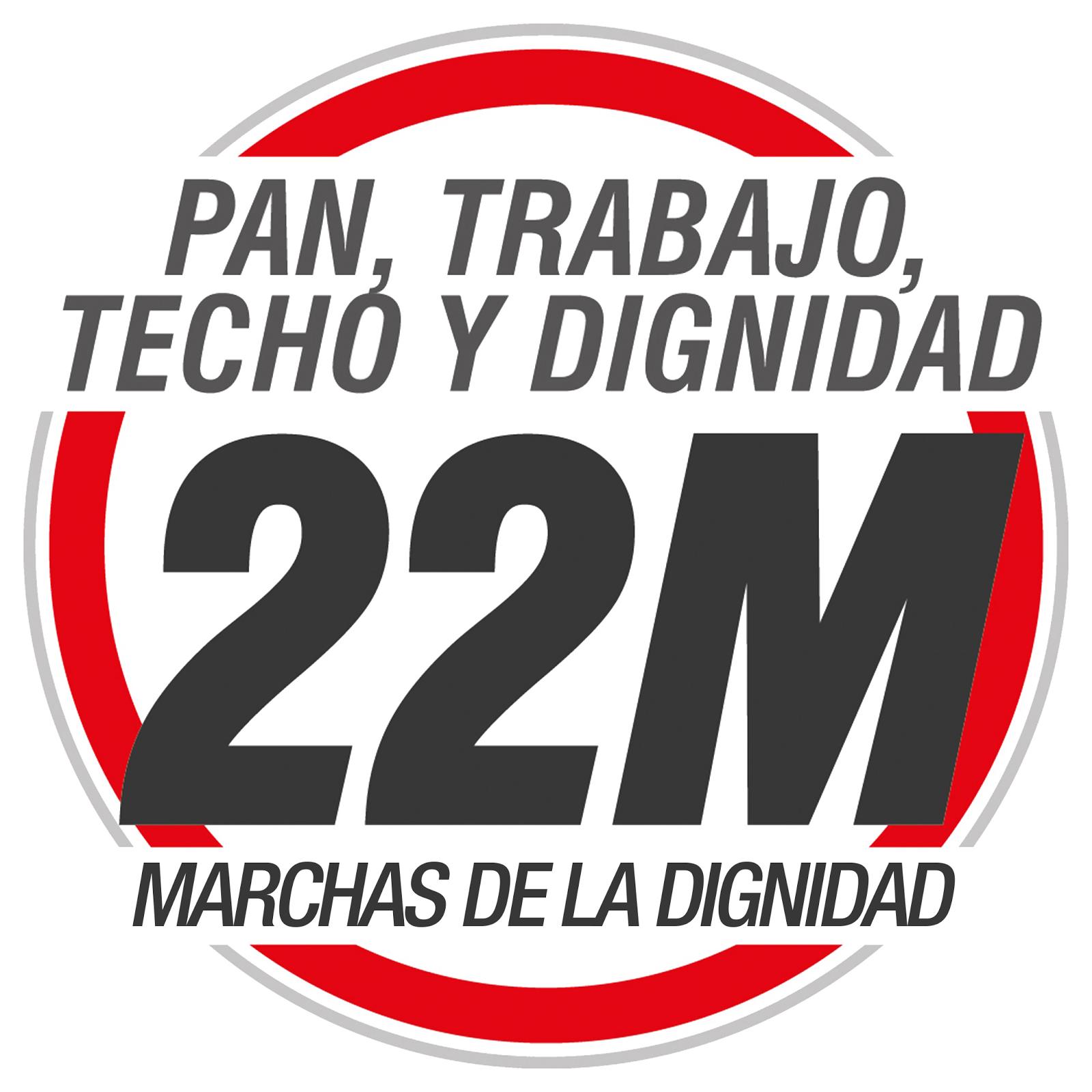 Marchas de la Dignidad 22M