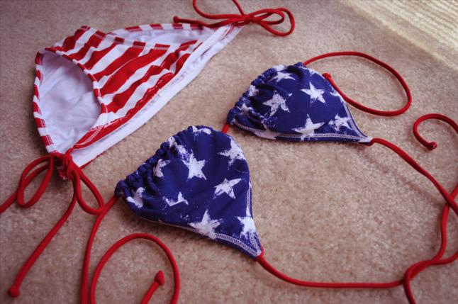 american flag bikini, target, Stars and Stripes, stars, stripes, summer, swimwear