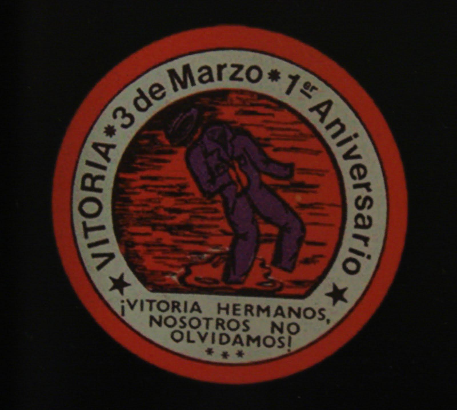 EXPOSICIÓ MARTXOAK 3 DE MARZO VITORIA-GASTEIZ 1976 A L'EUSKAL ETXEA BARCELONA