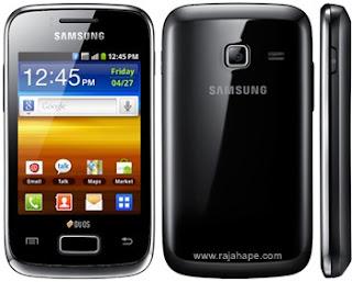 Spesifikasi Dan Harga Samsung Galaxy Y Duos