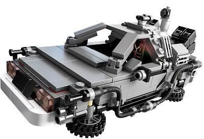 LEGO, Back To The Future, DeLorean